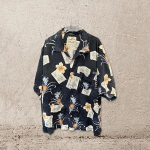 Jamaica Jaxx Silk Hawaiian Shirt